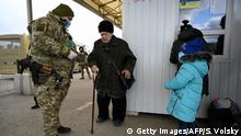Ukraine Konflikt Ost-Ukraine & Russland | Novotroitske | Coronavirus | Gesundheitskontrolle