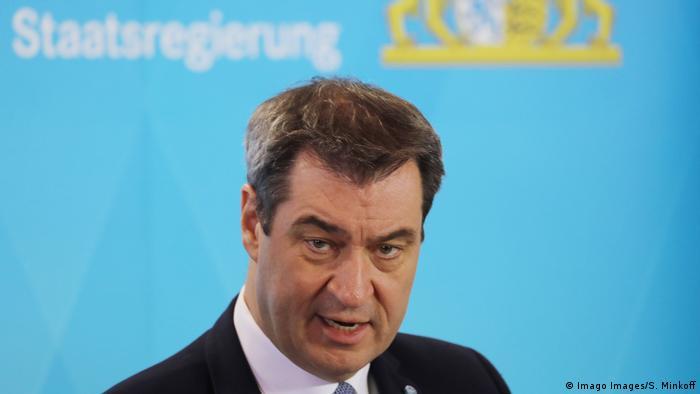 Deutschland München | Coronavirus | Markus Söder, Ministerpräsident (Imago Images/S. Minkoff)
