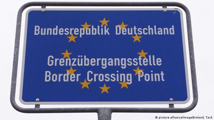 Deutschland Symbolbild Grenzübergangsstelle