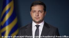 Ukraine Kiew | Coronavirus | Wolodymyr Selenskyj, ukrainischer Präsident