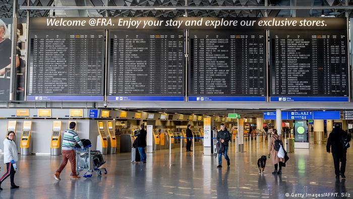 Аэропорт во Франкфурте-на Майне