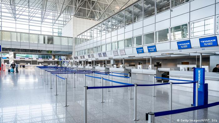 Deutschland Frankfurt am Main Flughafen | Coronavirus (Getty Images/AFP/T. Silz)