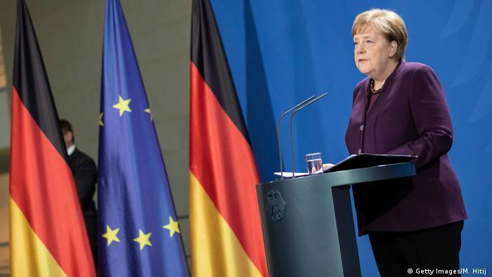 Coronavirus Angela Merkel Anunţă Măsuri Fără Precedent Europa