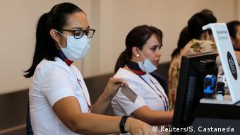 Peru Lima   Jorge Chavez International Airport  Coronavirus
