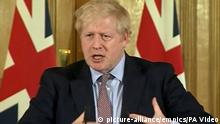 Großbritannien London | Coronavirus | Boris Johnson, Premierminister