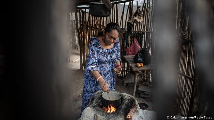 Jaqueline Romero, activista de Fuerza de Mujeres Wayuu.