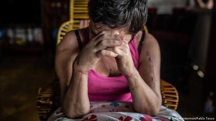 Pressebilder Oxfam Intermón | Menschenrechts- und Umweltaktivistinnen in Kolumbien | Maribel (Oxfam Intermón/Pablo Tosco)