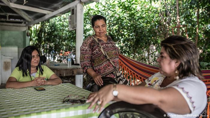 Encuentro de activistas de DD. HH. de Oxfam Intermón en Caquetá, Colombia.