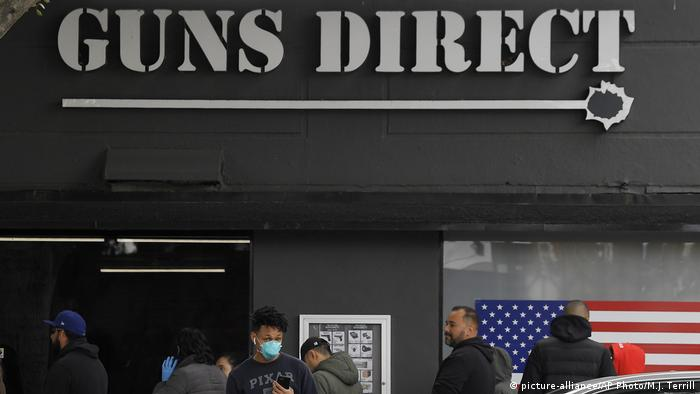 Gun shop, USA