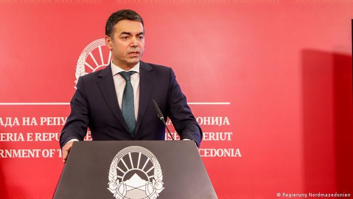 Nord-Mazedonien: Nikola Dimitrov, Außenminister (Regierung Nordmazedonien)