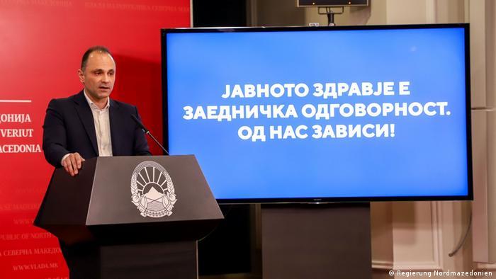 Nord-Mazedonien: Venko Filipce, Gesundheitsminister (Regierung Nordmazedonien)