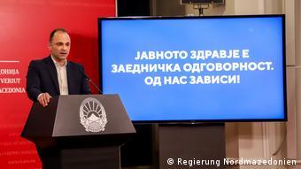 Nord-Mazedonien: Venko Filipce, Gesundheitsminister