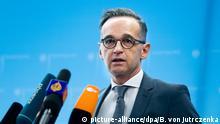 Deutschland Coronavirus - Pk Außenminister Heiko Maas