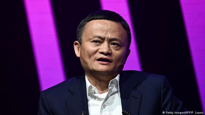 Frankreich Paris | Jack Ma CEO von Alibaba