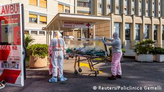 Στα ιταλικά νοσοκομεία η κατάσταση παραμένει κρίσιμη