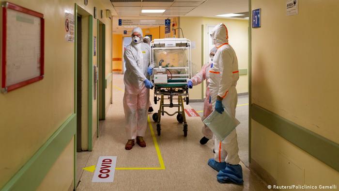Italien Coronavirus (Reuters/Policlinico Gemelli)