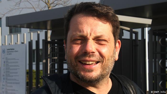 Romeo Bertolini trabaja ahora desde casa, como muchos otros profesionales en Alemania.