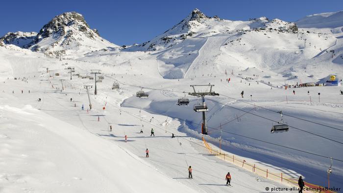 Pista de esqui em Ischgl