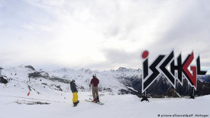 Österreich Wintersportort Ischgl