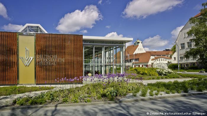 New engineering and production facility of Deutsche Werkstätten in Hellerau, Dresden