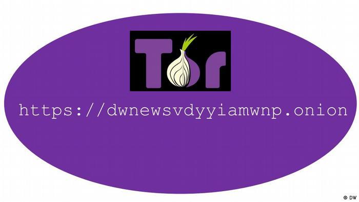Con este enlace puede acceder a las noticias de DW a través de Tor.