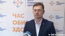 Ihor Kusin, Leiter des Gesundheitszentrums des Gesundheitsministeriums der Ukraine