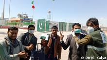 In these pictures, we see the Pakistan - Iran border and how the authorities in Pakistan made the arrangments for the pilgrims who are coming from Iran. Title: Corona Virus Place: Pakistan iran border ( Balochistan) Date; 17.03.2020 Fotograf: Ghani Kakar, DW.