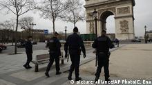 Frankreich Paris Coronavirus