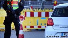 Deutschland Grenze zu Österreich bei Kiefersfelden | Coronavirus | Grenzschließung