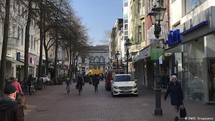Pješačka zona u bonskom kvartu Bad Godesbergu