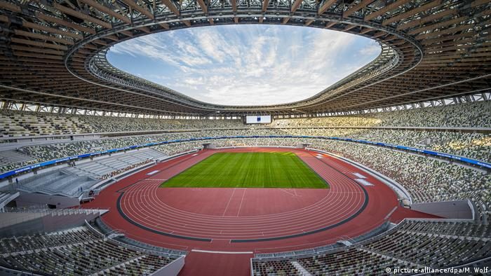 Tokyo's Olympic Stadium for the 2020 Games (picture-alliance/dpa/M. Wolf)