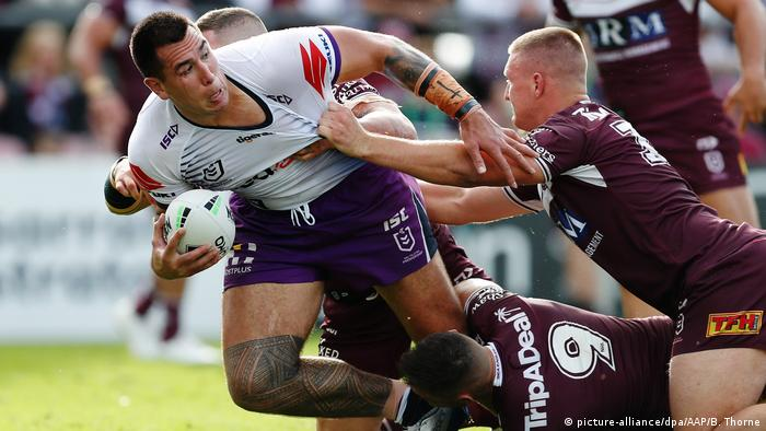 Rugby - NRL: Manly Sea Eagles vs. Melbourne Storm (picture-alliance/dpa/AAP/B. Thorne)