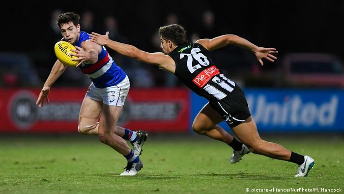 Aussie Rules: Collingwood v Footscray (picture-alliance/NurPhoto/M. Hancock)