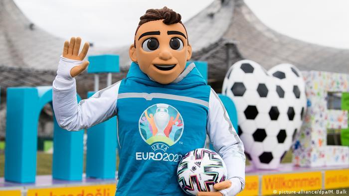 Символ чемпионата Европы по футболу 2020 года