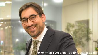 Експерт German Economic Team Давід Шага