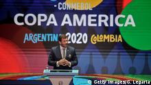 Kolumbien 2019   Copa América   Alejandro Dominguez, Präsident CONMEBOL
