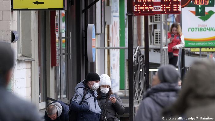 Ukraine Pandemie Covid Corona (picture-alliance/dpa/A. Ratmirov)