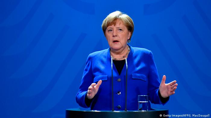 Angela Merkel sobre el coronavirus: ″Somos una comunidad en la que ...