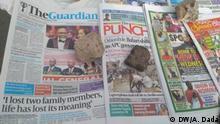 Nigeria Lagos | Coronavirus | Presse, Medien