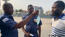 Nigeria Lagos | Coronavirus | Temperaturmessung