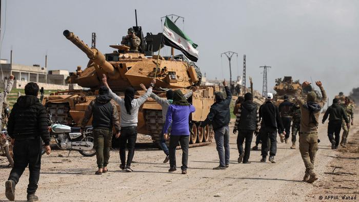 Syrien Idlib Waffenstillstand