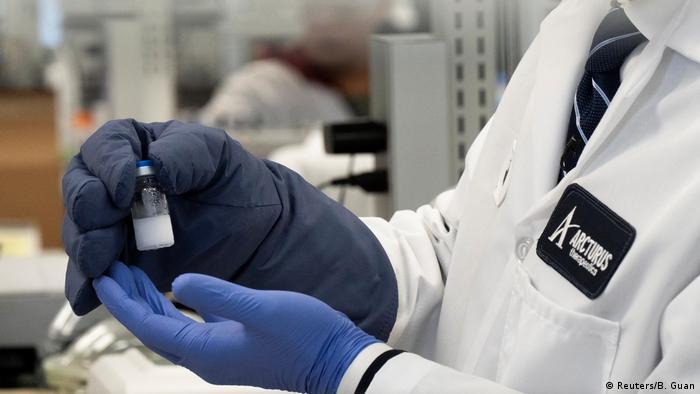 Arcturus Therapeutics, ein Unternehmen für RNA-Arzneimittel, erforscht einen Impfstoff gegen das neuartige Coronavirus (COVID-10) (Reuters/B. Guan)