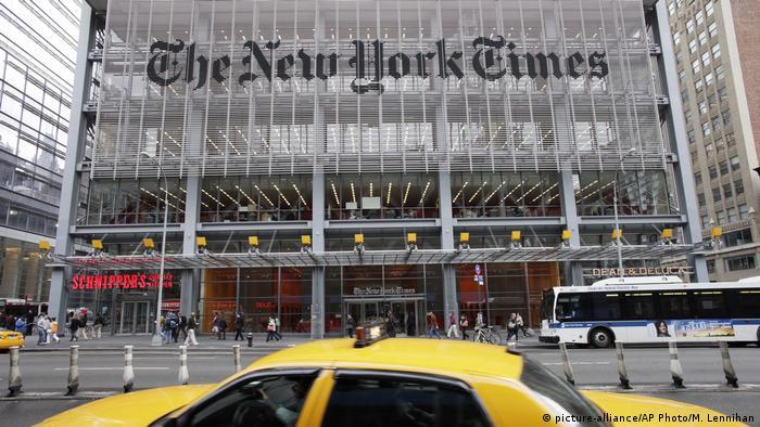 The New York Times building (picture-alliance/AP Photo/M. Lennihan)