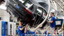 Wolfsburg Volkswagen - Produktion