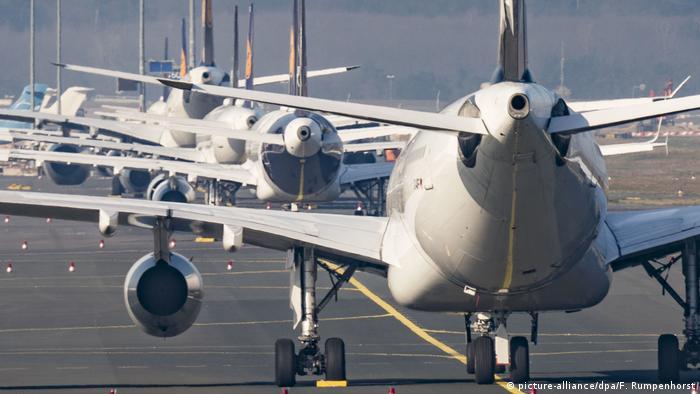 Zračne luke u Njemačkoj se pretvaraju u parkirališta aviona koji nikamo ne lete
