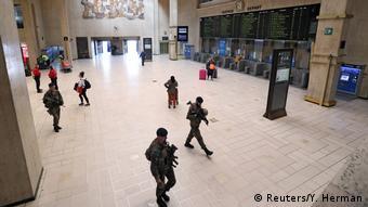 Belgien Lockdown in Brüssel (Reuters/Y. Herman)