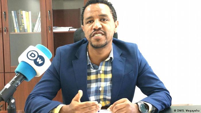 Äthiopien Fisum Tefera (DW/S. Wegayehu)