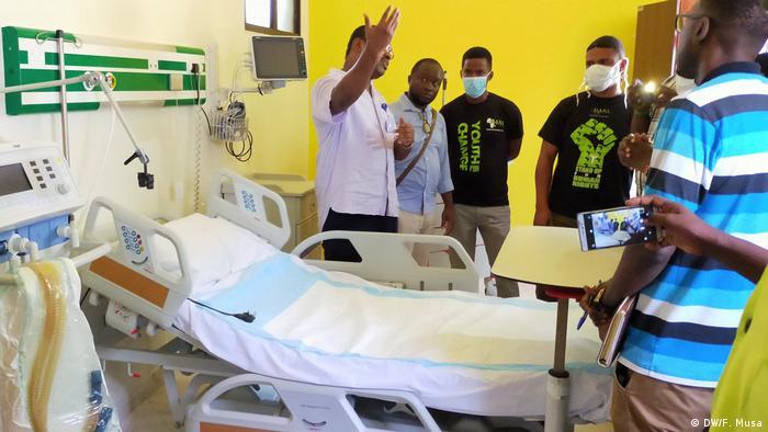 Kenia Isolationsbetten im Coast general hospital