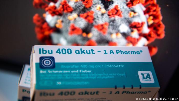 Ibuprofen untuk infeksi virus corona