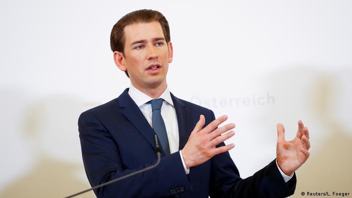 Österreich Wien Bundeskanzler Sebastian Kurz (Reuters/L. Foeger)